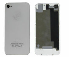 Glass Rear Back Door Battery Cover Repair Housing For iphone 4 4G White UK