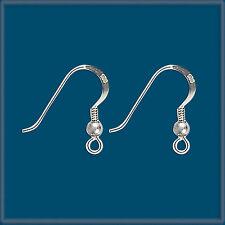 24 Sterling Silver Earring Finding Ear Wire Hook