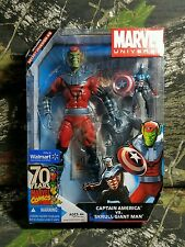 NEW SEALED Marvel Universe Captain America Skrull Giant Man Figures Variant AC