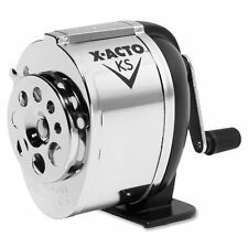 X-acto Boston Model Ks Pencil Sharpener - Desktop - 8 Hole[s] - Silver (EPI1031)