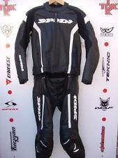 "Spidi RR Two Piece Race/touring suit uk 44 jacket uk 32/34"" jean great condition"