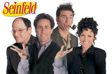 Seinfield Cast poster! The show about nothing comedy NBC Cultural Phenomenon!