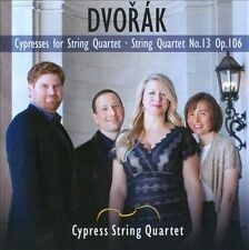 NEW Dvork: Cypresses For String Quartet; String Quartet No. 13 CD (CD) Free P&H