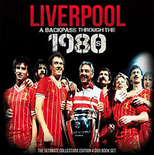 Liverpool FC A Backpass Through the 1980s - Hardback book Plus 4 Highlights DVDs