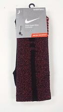 New Nike Elite-Cushioned Basketball Crew Socks Size L 8-12 - XL 12-15