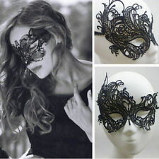 Hot Charm Eye Mask Sexy Black Lace Party Venetian Masquerade Ball COSTUME Decor