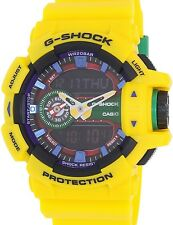 Casio Men's G-Shock GA400-9A Yellow Resin Quartz Watch