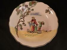ROYAL DOULTON ENGLISH OLD THE GLEANERS SCENES CERAMIC BOWL DISH LADY & CHILDREN