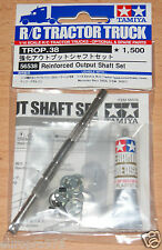 Tamiya 56538 Tractor Truck Reinforced Output Shaft Set (Scania/MAN/Actros), NIP