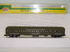 "N  SCALE US ARMY  TROOP  PASSENGER COACH CAR ""RAPID DEPLOYMENT"" # 88611"