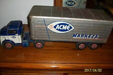 ACME MARKETS TOY TRUCK 1950'S TRACTOR TRAILER