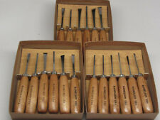 18pc Woodcarving Gunsmith Tools Gouge Parting Mini  RAMELSON USA 116 116R 219S