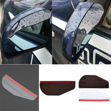 Left and Right Rear View Side Mirror Rain Snow Eyebrow Sun Visor Shade Shield