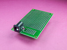 2 of Prototype strip PCB Double sided for ESP8266 arduino friendly IOT + DC Jack