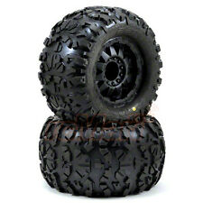 "Pro-Line Rock Rage 3.8"" Tire F-11 Black 1/2"" Offset 17mm E-Revo Summit #1199-13"