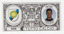 figurina - TUTTO CALCIO EURO MONETE  - INTER TOLDO