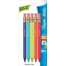 Papermate Mates 1.3mm Mechanical Pencil HB #2 Lead Fashion Colors 5/PK