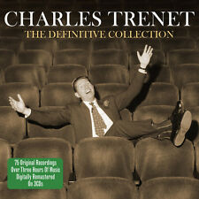Charles Trenet DEFINITIVE COLLECTION Best Of 75 Songs FRENCH MUSIC New 3 CD