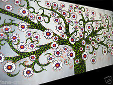 aboriginal  bush tree of life landscape painting australia MADE TO ORDER