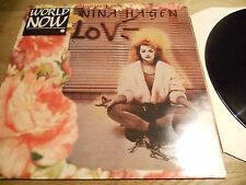 NINA HAGEN WORLD NOW 1986 CBS RECORDS DUTCH PRESSED MAXI SINGLE RARE HOLLAND SEE