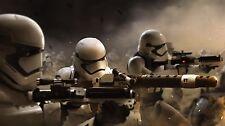 STAR WARS VII FORCE AWAKENS GEORGE LUCAS WALT DISNEY STORMTROOPER ARMY