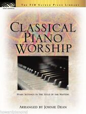 Classical Piano Worship, Piano Solo Collection by Johnie Dean - FJH Music