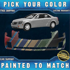 NEW Painted to Match - Front Bumper Cover Replacement For 2003-2007 Cadillac CTS