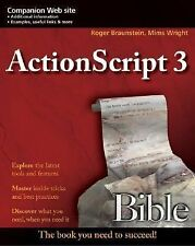 Bible Ser.: Actionscript 3.0 433 by Roger Braunstein, Joshua J. Noble, Mims...