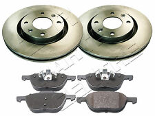 FOR MAZDA 3 2.0i 2.0D 2.0 DIESEL FRONT VENTED BAKE DISC DISCS and PADS SET 2003-