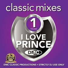 DMC Prince Megamixes & 2 Trackers Mixes Remixes Mix Mash Ft James Brown DJ CD