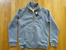 UNDEFEATED Full Zip Jacket Cotton Size Men's Large L UNDFTD Heather Grey NEW