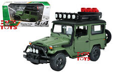 Motor Max PLATINUM 1/24 Scale Toyota FJ40 Land Cruiser Green Diecast Model 79137