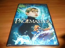 The Pagemaster (DVD, Widescreen) Macaulay Culkin NEW
