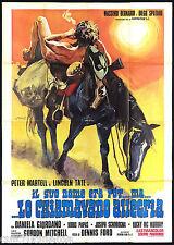 IL SUO NOME ERA POT MA LO CHIAMAVANO ALLEGRIA! MANIFESTO WESTERN 1972 POSTER 4F