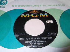 Herman's Hermits: Can't You Hear My Heartbeat / I Know Why 45