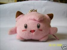 Pokemon Clefairy Stuffed Zipperball (Dirty And Needs To Be Cleaned- See Details)
