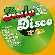 CD ZYX Italo Disco 12 Hits von Various Artists   2CDs
