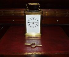 Antique PENDULE D'OFFICIER, bronze 8 days-working early twentieth century