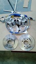"Mk1 Mk2 Escort 13"" English axle rear disc brake conversion kit RS rally BR-86E"