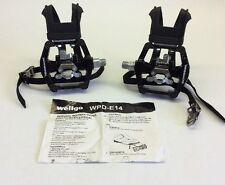 "Schwinn Wellgo 9/16"" WPD -E14 Clip less Bicycle Exercise Bike Pedal"