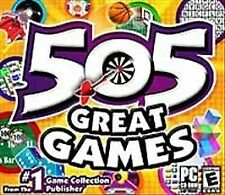 505 GREAT GAMES PC CD-ROM NEW & SEALED