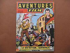 ARTIMA  :  AVENTURES-FILM n° 20 (1953) Le dictateur de Santamala