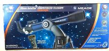 Meade 80mm Autostar Computerized PlanetTelescope Limited Edition Portable In Box