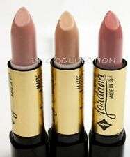 Lot of 3 Jordana Matte Lipstick  Natural Beige Nude Shades 47,22,28 MADE IN USA