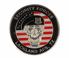 US SECURITY FORCES LACKLAND AFB TX CHALLENGE COIN-34016