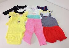 NWT LOT OF 11 GIRLS BABY CLOTHES 6M