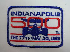 1993 Indianapolis 500 Event Emblem Collector Patch Indycar Indy 500