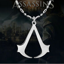 Assassins Creed Halskette Kette Necklace Logo Symbol der Assassinen Anhänger