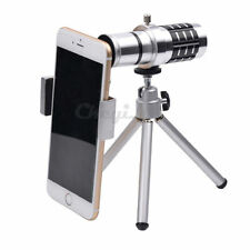 Manual Focus 12x Optical Zoom Mobile Cell Phone Smartphone Telephoto Lens