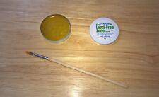Colofonia Fundente Pasta de Soldadura Fórmula Avanzada con cepillo de pasta de flujo